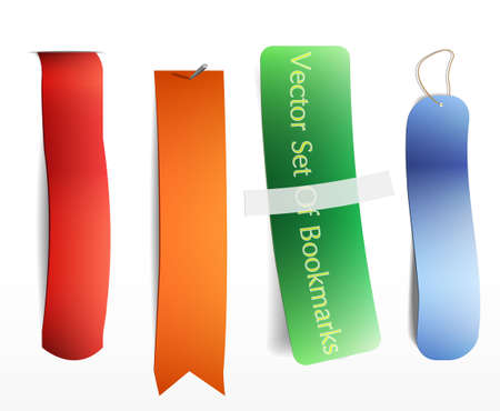 Bookmarks icon set
