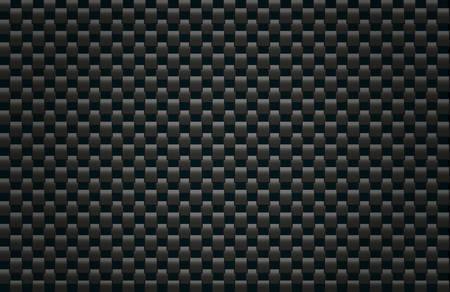 Kwadratowy ilustracji deseń symulację tekstury węglowe Ilustracja