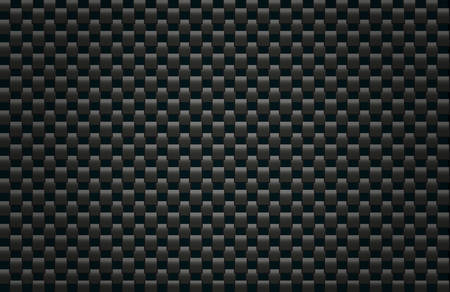 fibre: Square pattern illustration simulating carbon fiber texture
