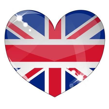 Hear Britain Flag Illustration