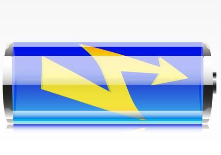 Beautiful batteries. Stock Vector - 8519237