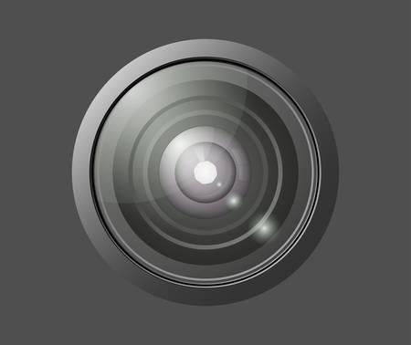 Lens Stock Vector - 8570626