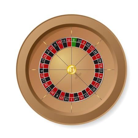roue de fortune: Roue de roulette Illustration