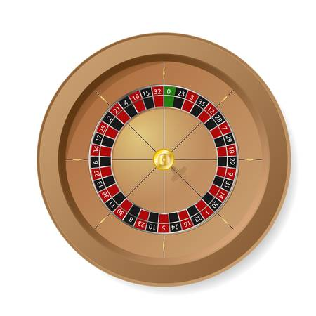 Roulette Wheel Stock Vector - 8670078