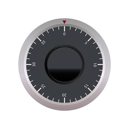 Vector Combination Lock Vector