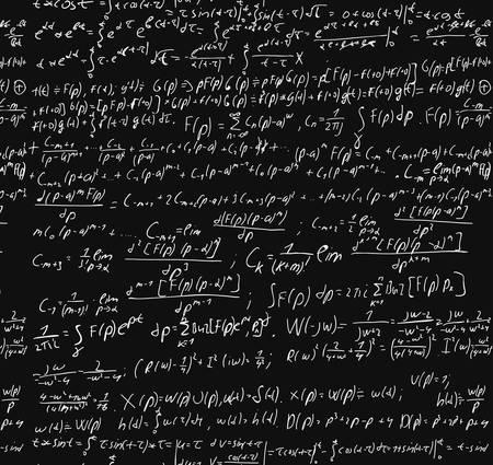handwriting: Maths Chalk Board Illustration