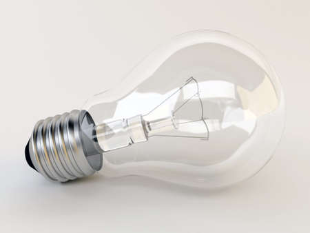 3d light bulb Stock Photo - 14847194