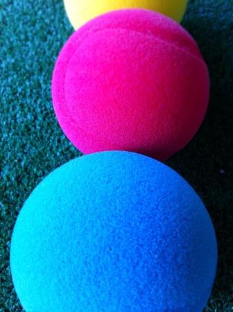 colour: Colored balls