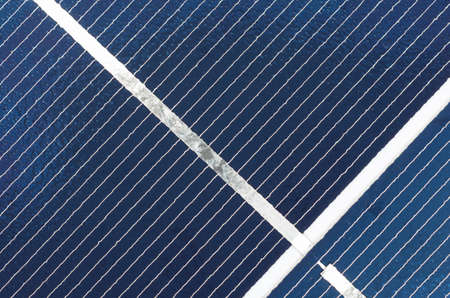 photoelectric: photovoltaic solar cell panel close up, detail of junctions