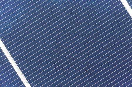 photoelectric: photovoltaic solar cell panel close up, detail Stock Photo