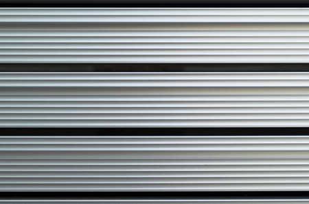 resistence: extruded aluminium bars close up