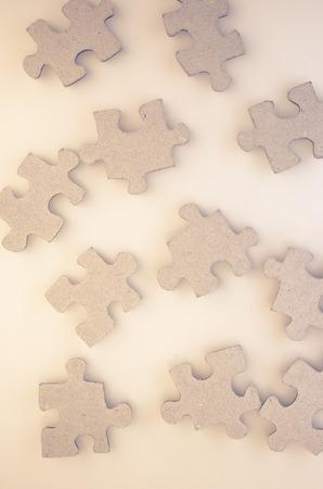 matt: jigsaw puzzle pieces on a matt glass surface