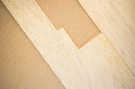 balsa: balsa wood panel veneer close up