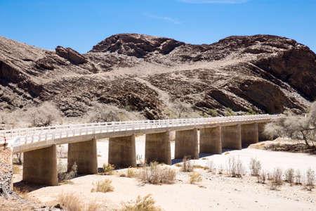 Long dry bridge Stock Photo