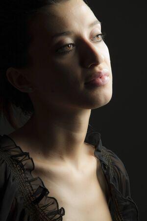 Beautiful woman posing... Stock Photo