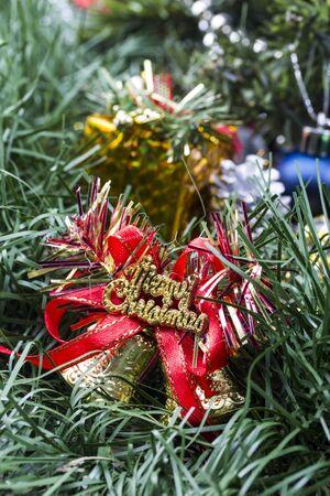 Weihnachtsschmuck voller Geschenke