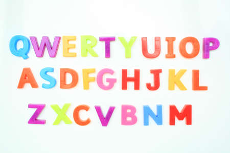 qwerty: Qwerty Stock Photo