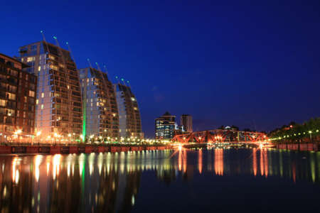 regeneration: Salford Quays NV Buildings