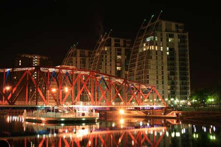 nv: Salford Quays NV Buildings & Detroit Bridge