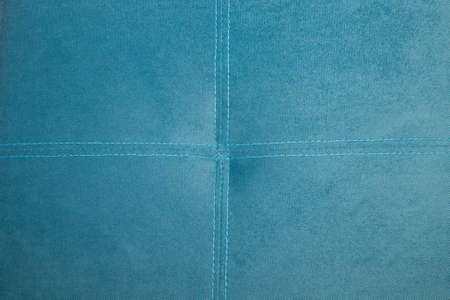 double cross: Double stitch with a cross on the puff Stock Photo