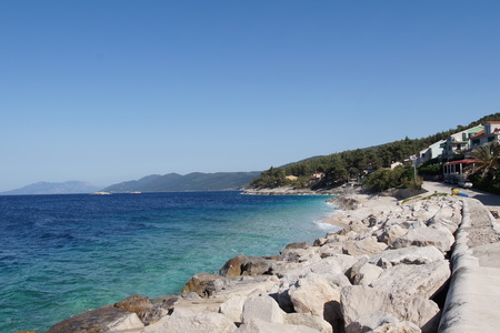 Rocks in  the Prigradica, Blato, Korcula Island - Croatia