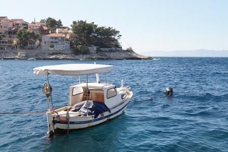 Boat n the Prigradica, Blato, Korcula Island - Croatia