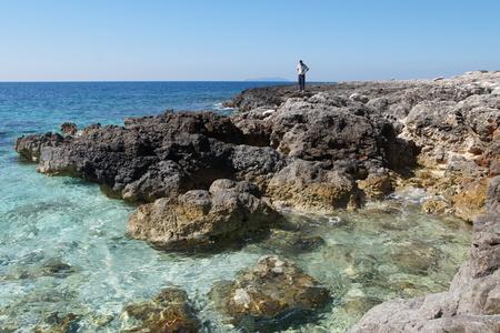 Trestenik islet, Adriatic sea, Dalmatia