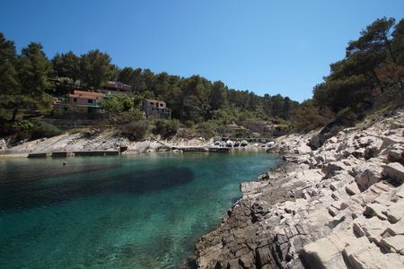 Prihonja bay near Vela Luka, Korcula island - Croatia