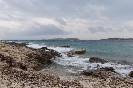 Adriatic sea & waves