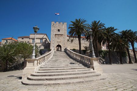 Entrance to Korcula old townst