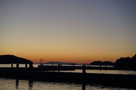 Vela Luka sunset, Korcula Island, Croatia