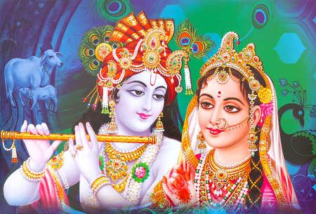 1 329 Radha Krishna Stock Photos And Images 123rf
