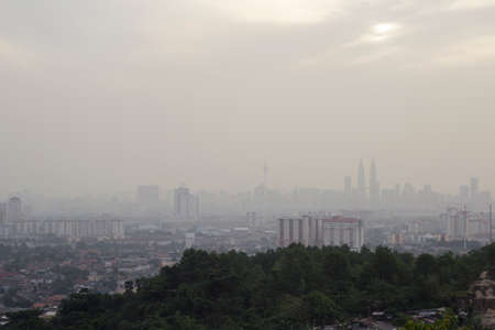 haze: Kuala Lumpur on haze