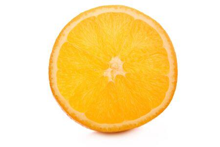 sweet segments: Orange isolated on white background