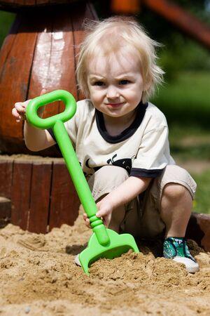 showground: Little boy in outdoor sittings