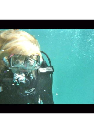 First scuba dive in the Great Barrier Reef
