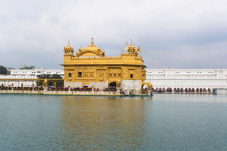 the Golden temple complex