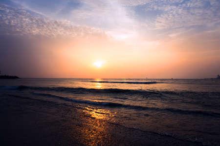 chilika: Golden Sunset at the Asias Largest Salt Water Lake in Chilika, India