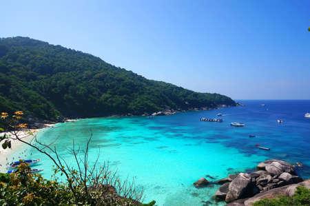 Tropical beach, Similan Islands Stock Photo