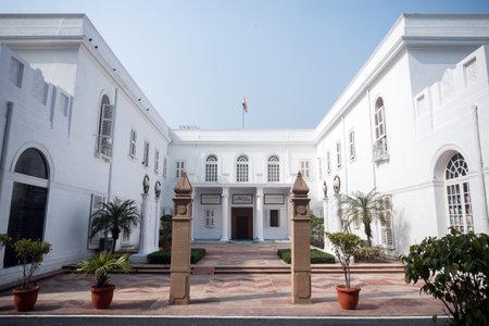 Dom Birli. Narodowe Muzeum Gandhiego w Nowym Delhi. Indie, 26 stycznia 2018 r.