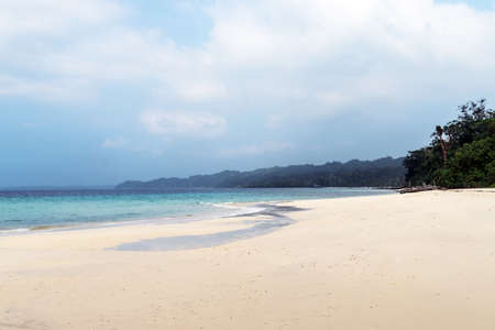 Havelock island is a picturesque natural paradise with beautiful white sandy beaches. It is one of the populated islands in the Andaman Groups.