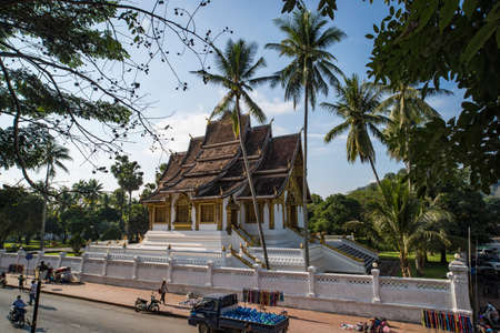 Luang Prabang National Museum and Haw Kham Temple in Laos are the main attractions of the city