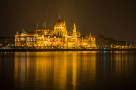 nightview: Hungarian Parlament Building at night