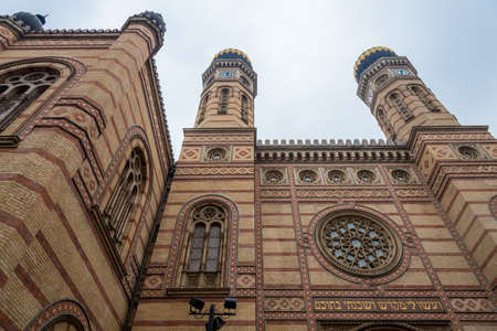 synagogue: Synagogue in Budapest, Hungary