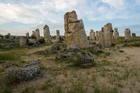 adulation: Pobiti kamani - phenomenon rock formations in Bulgaria near Varna