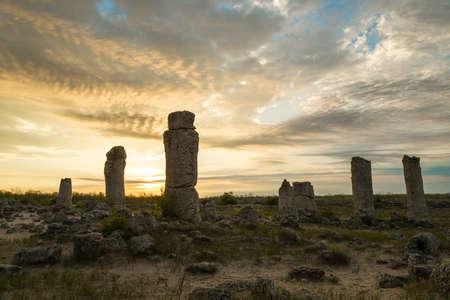 phenomenon: Pobiti kamani - phenomenon rock formations in Bulgaria near Varna