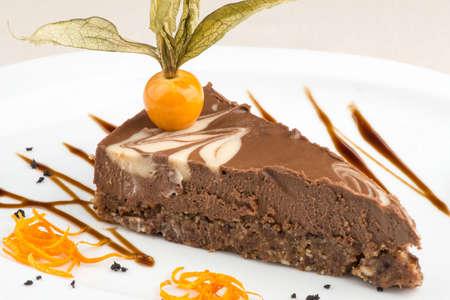 ビーガン ケーキ 写真素材