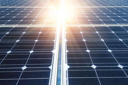 太陽光発電パネル - 代替電力源 写真素材
