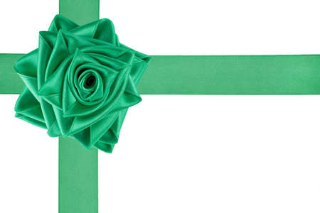tied: Band wie eine Rose gebunden Lizenzfreie Bilder