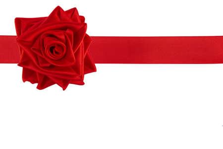 gefesselt: Ribbon tied as a rose